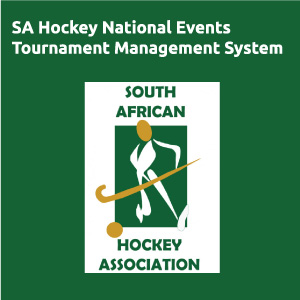 SA Hockey National Events Tournament Management System